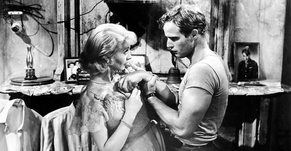 Vivien Leigh et Marlon Brando dans un Tramway nommé Désir