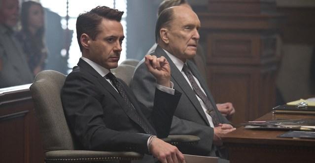 Robert Downey Jr et Robert Duvall dans Le Juge