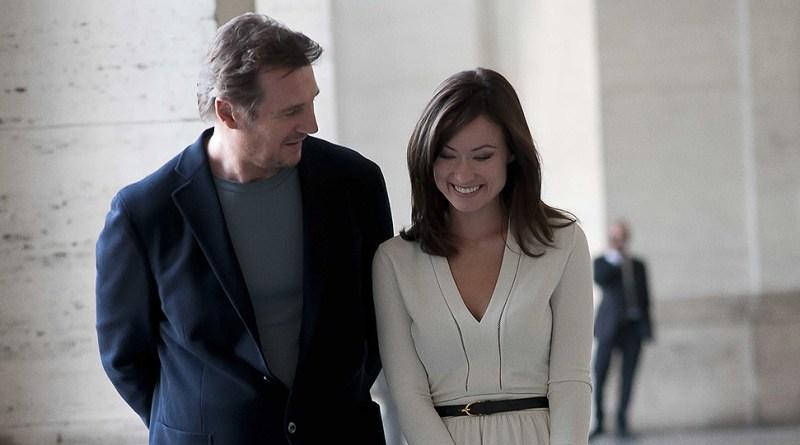 Liam Neeson et Olivia Wilde dans Puzzle