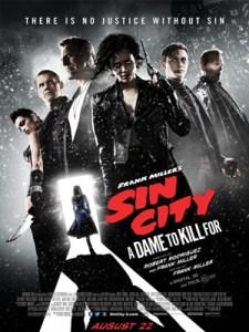 Affiche de Sin City : J'ai tué pour elle