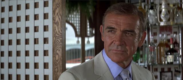 Sean Connery dans Jamais Plus Jamais (1983)