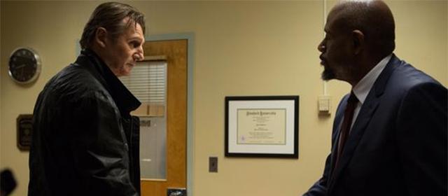 Liam Neeson et Forest Whitaker dans Taken 3 (2015)