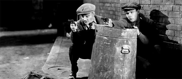 James Cagney et Edward Woods dans L'Ennemi Public (1931)
