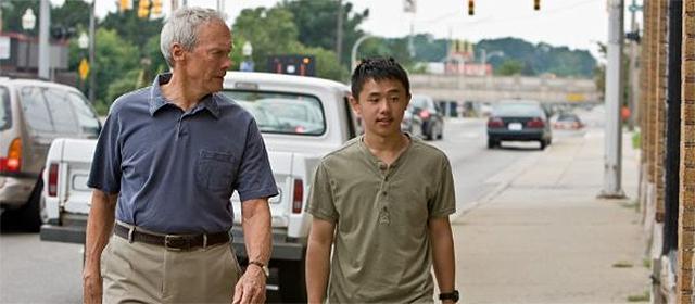 Clint Eastwood et Bee Vang dans Gran Torino (2008)