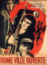 Affiche de Rome, ville ouverte (1945)