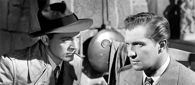 Dana Andrews et Vincent Price dans Laura (1946)