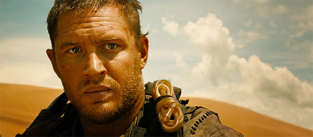 Tom Hardy dans Mad Max Fury Road (2015)