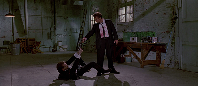 Steve Buscemi et Harvey Keitel dans Reservoir Dogs (1992)