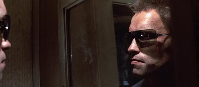 Arnold Schwarzenegger dans Terminator (1984)