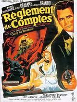 Affiche de Règlement de comptes (1953)