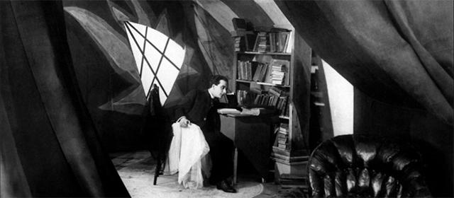 Friedrich Feher dans le Cabinet du Docteur Caligari (1920)