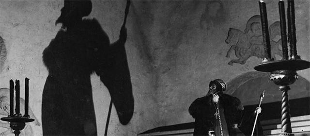Nikolaï Tcherkassov dans Ivan le Terrible : Partie II (1946)