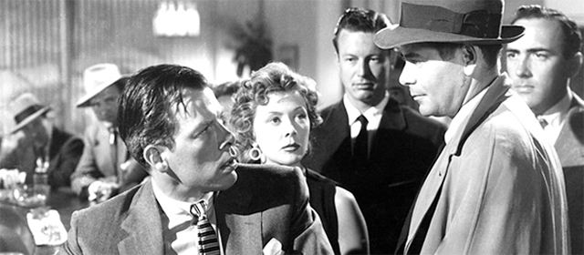 Lee Marvin, Gloria Grahame et Glenn Ford dans Règlement de comptes (1953)