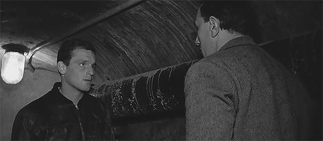Philippe Leroy-Beaulieu et Jean Keraudy dans Le Trou (1960)