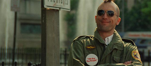 Robert de Niro dans Taxi Driver (1976)