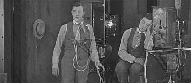 Buster Keaton dans Sherlock Junior (1924)