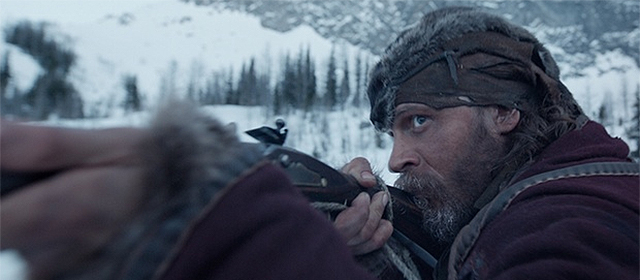 Tom Hardy dans The Revenant (2016)