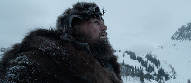Leonardo DiCaprio dans The Revenant (2016)