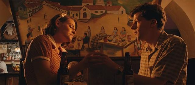 Kristen Stewart et Jesse Eisenberg dans Café Society (2016)