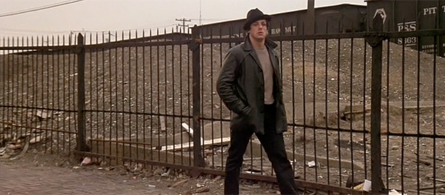 Sylvester Stallone dans Rocky (1976)