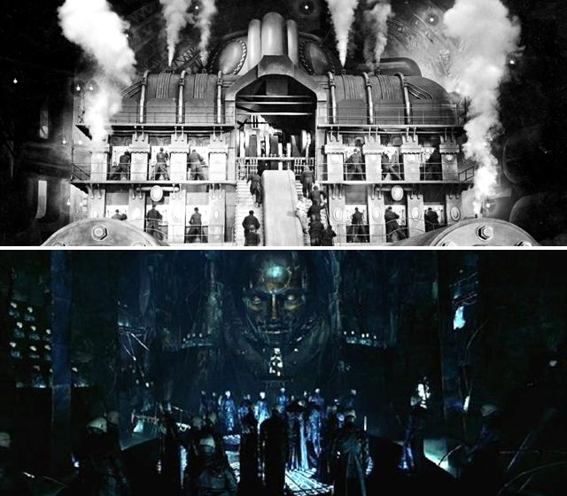 Metropolis vs Dark City