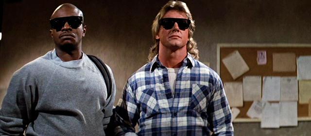 Keith David et Roddy Piper dans Invasion Los Angeles (1988)