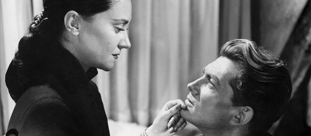 Maria Casarès et Jean Marais dans Orphée (1950)