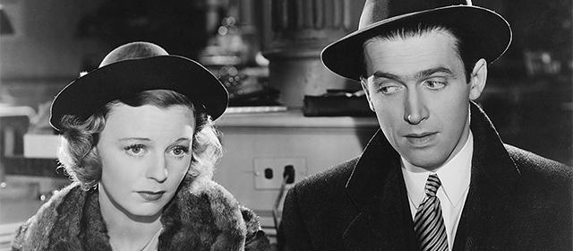 Margaret Sullavan et James Stewart dans Rendez-Vous (1940)