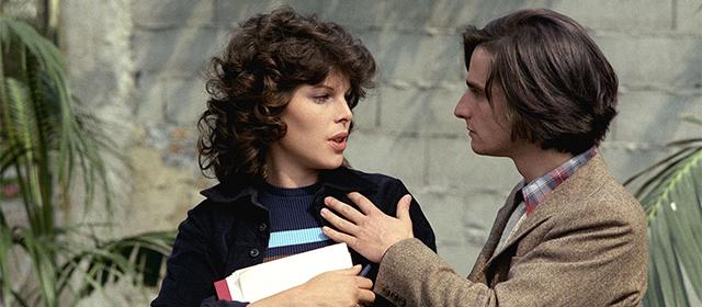 Dani et Jean-Pierre Léaud dans La Nuit Américaine (1973)