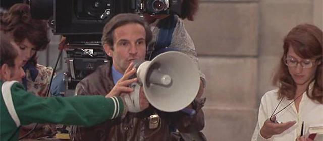 François Truffaut dans La Nuit Américaine (1973)