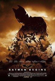 Affiche de Batman Begins (2005)
