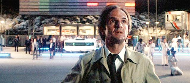 François Truffaut dans Rencontres du Troisième Type (1977)