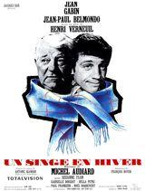 Affiche d'Un Singe en Hiver (1962)