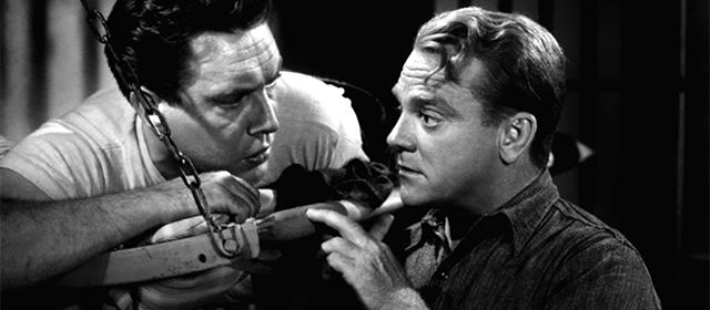 Edmond O'Brien et James Cagney dans L'Enfer est à Lui (1949)