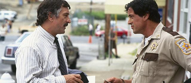 Robert de Niro et Sylvester Stallone dans Copland (1997)