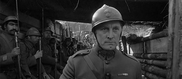 Kirk Douglas dans Les Sentiers de la Gloire (1957)