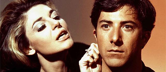Anne Bancroft et Dustin Hoffman dans Le Lauréat (1967)