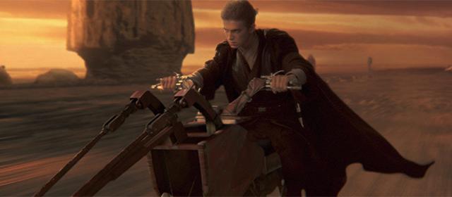Hayden Christensen dans Star Wars Episode II : L'Attaque des Clones (2002)