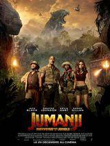 Affiche de Jumanji : Bienvenue dans la jungle (2017)