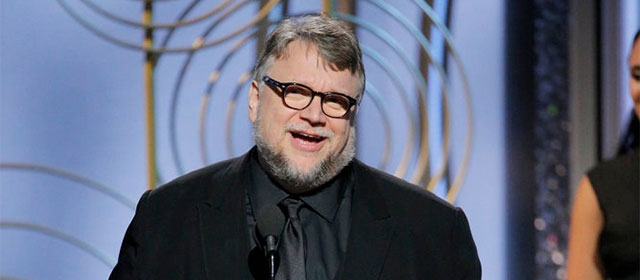 Guillermo del Toro aux Golden Globes 2018 (© Paul Drinkwater/NBC)