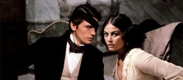 Alain Delon et Claudia Cardinale dans Le Guépard (1963)