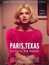 Affiche de Paris, Texas (1984)
