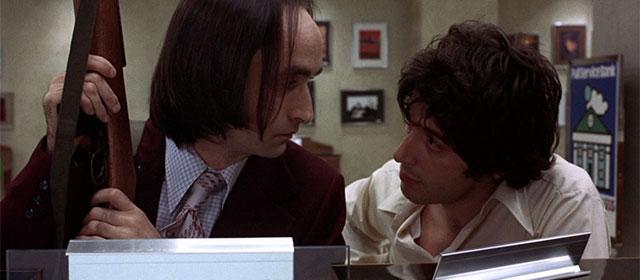 John Cazale et Al Pacino dans Un après-midi de chien (1975)