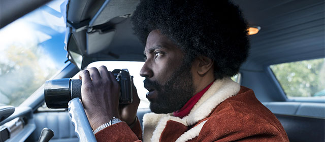 John David Washington dans BlacKkKlansman (2018)