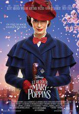 Affiche du Retour de Mary Poppins (2018)