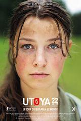 Affiche d'Utoya, le 22 juillet (2018)