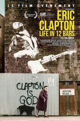 Affiche d'Eric Clapton : Life in 12 Bars (2019)