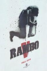 Affiche provisoire de Rambo V (2019)
