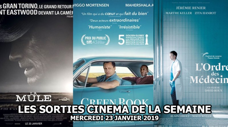 Les sorties cinéma du 23 janvier 2019