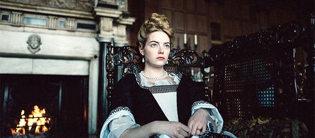 Emma Stone dans La Favorite (2019)